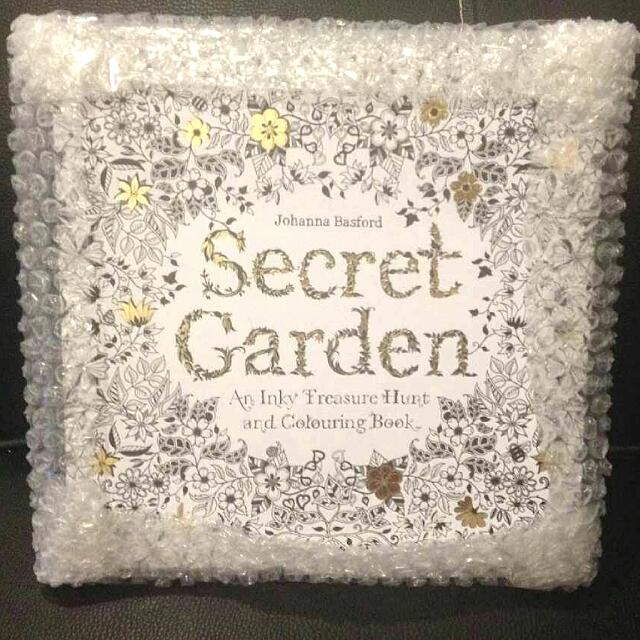 READYSTOCKSecret Garden Coloring Book English Version Authentic