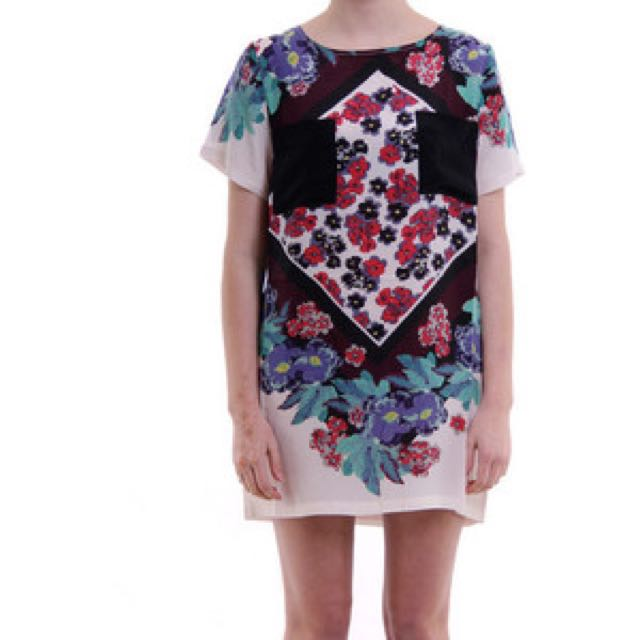 Shakuhachi Dress 100% Silk