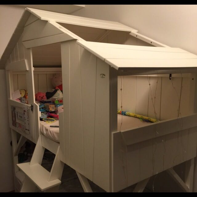 Tree House Bunk Bed For Kids Furniture On Carousell