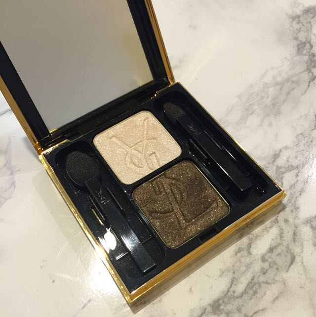 Yves Saint Laurent Ombré Duolumieres Eyeshadow in #1