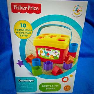 *reserved* Fisher Price Baby's First Blocks