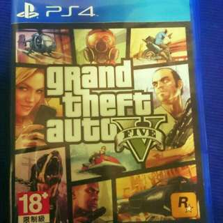 PS4. GTA5中文版