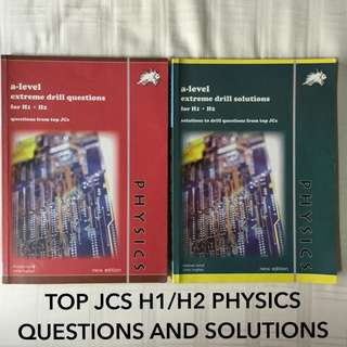 H1 H2 PHYSICS TOP JCS DRILL cheap