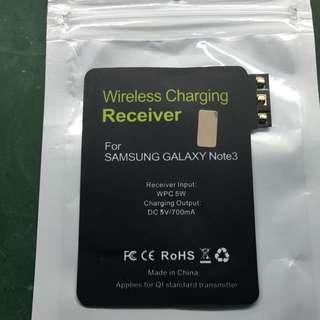 🚚 Samsung Note3專用的無線充電感應片/副廠/新品