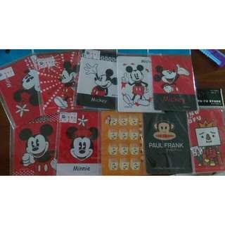 米奇 米妮 豆腐 猴子 卡片 保護套
