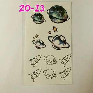 日本原宿紋身貼紙~No.20-13