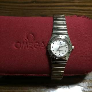 Omega ladies Constellation My Choice With MOP Dial