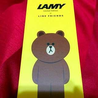 LAMY X LINE 限定版熊大鋼筆 Safari