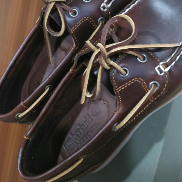 (9.99成新)timberland帆船鞋