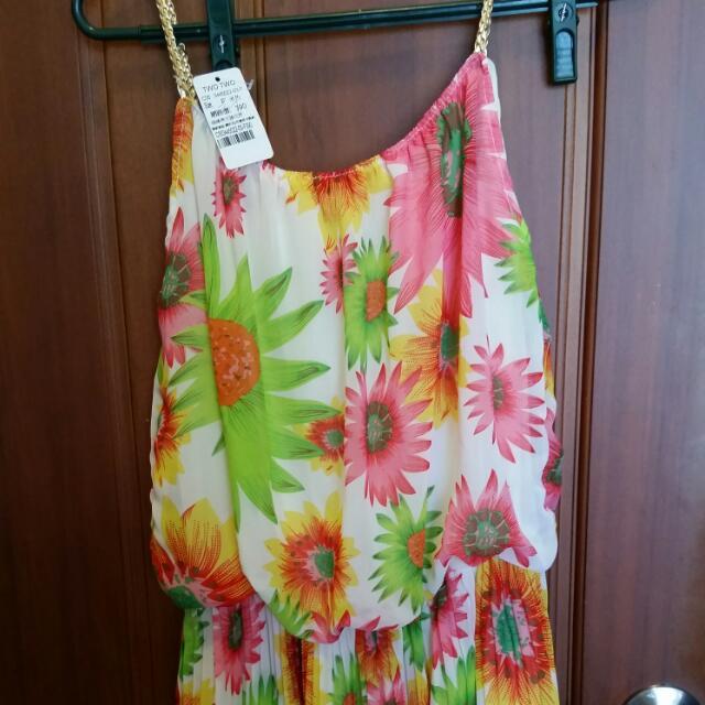 全新太陽花洋裝