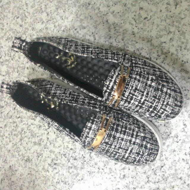 秋冬款 厚底鞋(二手)