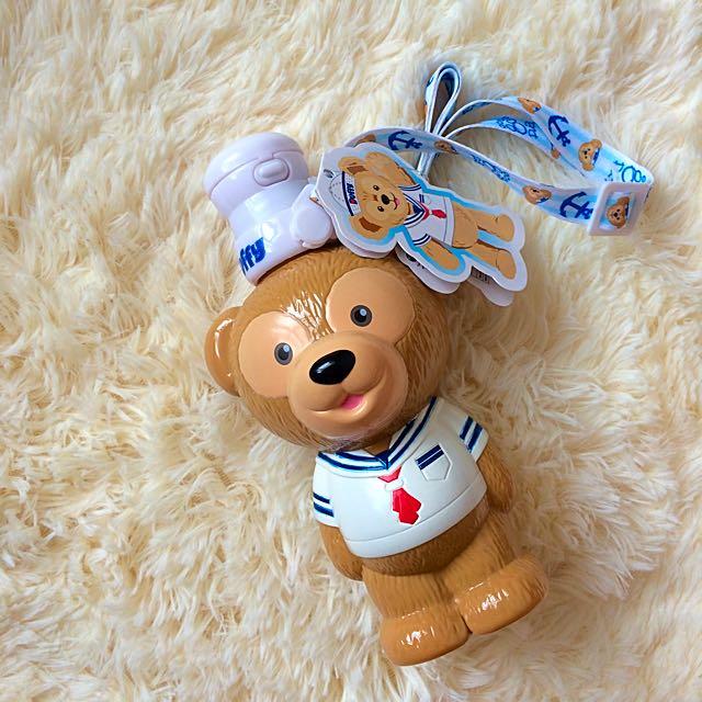 (保留)💕達菲 造型水壺 香港迪士尼💕