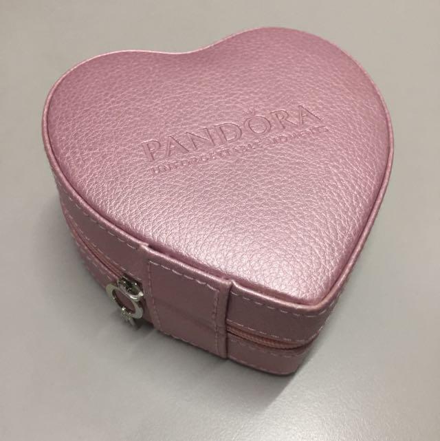 潘朵拉情人節限定寶盒 首飾盒 Pandora