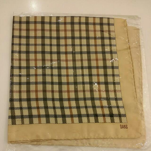 DAKS絲巾【正品】