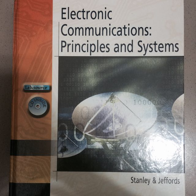 Electronic Communications Principles and System