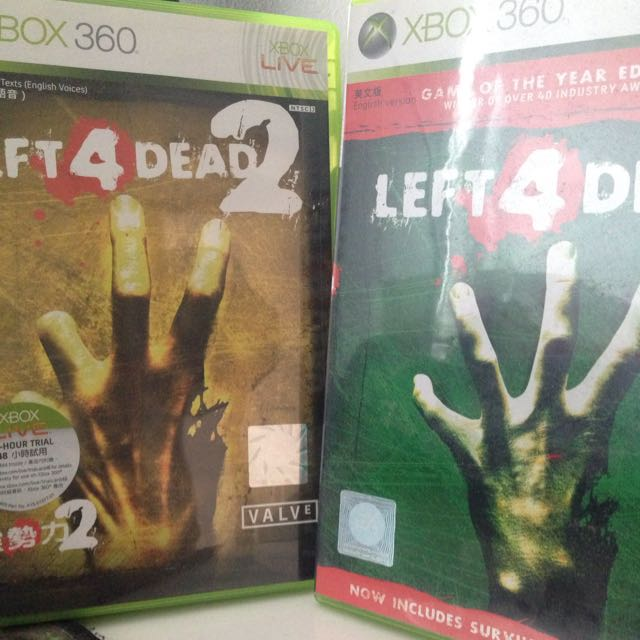 Left 4 Dead 1&2 Bundle