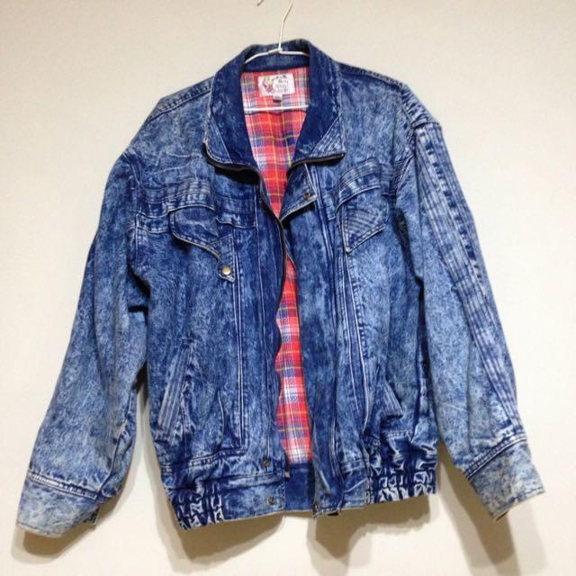 [售出]重磅古著oversize牛仔外套
