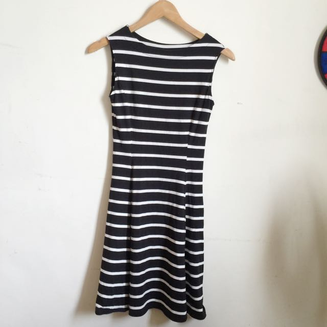 uniqlo 條紋洋裝