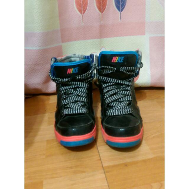 (保留)黑x粉NIKE籃球鞋👟