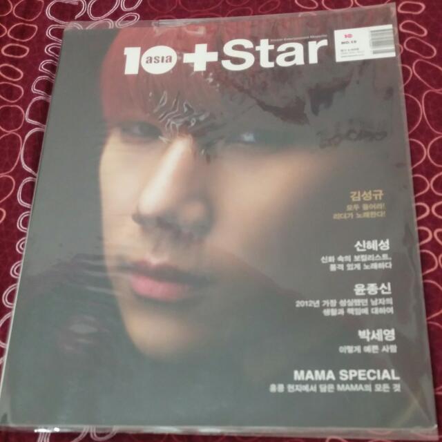 10+Star 金聖圭solo1封面