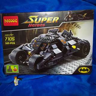 Decool Batman Tumbler Combat Vehicle