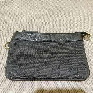 Gucci經典黑色零錢包【正品】