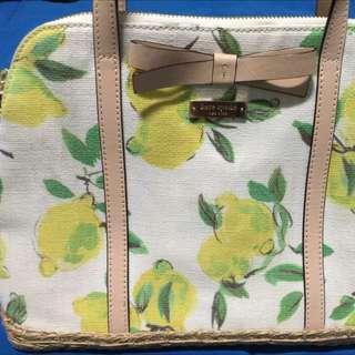 Kate spade flowery bag