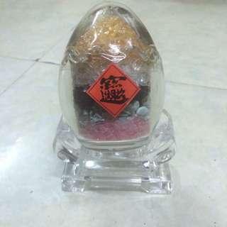 五行水晶聚寶蛋
