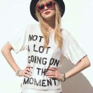 Taylor Swift Shirt 22 Music video