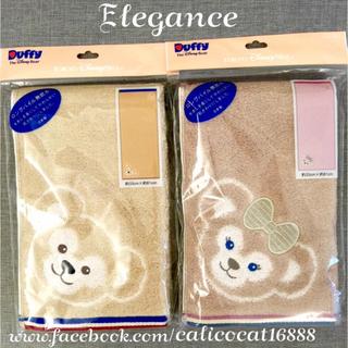 日本東京海洋迪士尼 Duffy達菲&ShellieMay雪莉玫 長毛巾 (日本製)