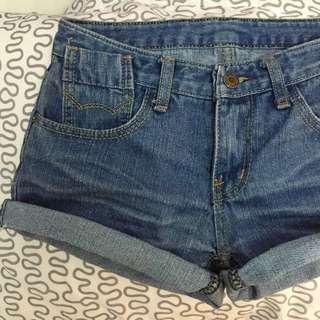 ⚫️ BN Denim Shorts W/ Ripped Pockets