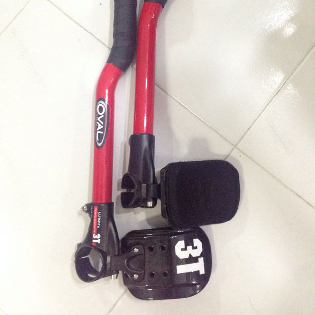 3T Full Carbon Clip-on Aero Bar