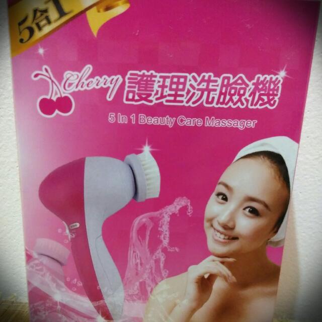 ♥免運♥ 【二手】5合1護理洗臉機