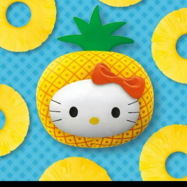 麥當勞鳳梨凱蒂貓…只有一個含運