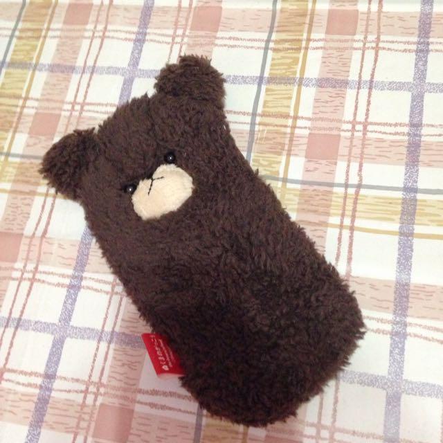 送)小熊筆袋
