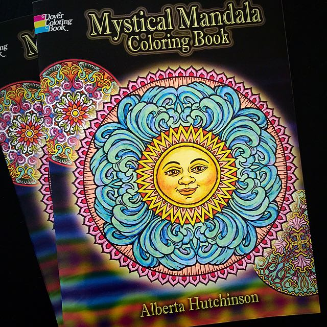 On Hand Mystical Mandala Coloring Book