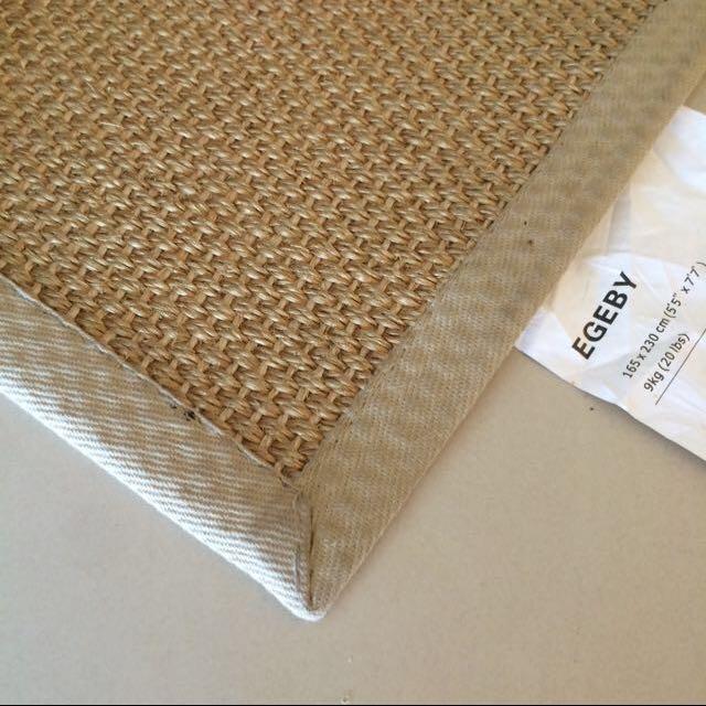 Ikea Rattan Weave Rug Furniture On
