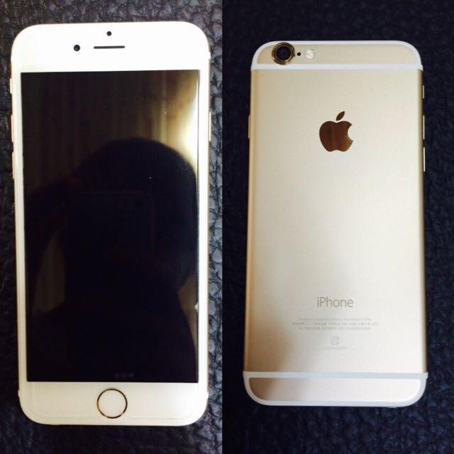 iPhone6金色4.7吋16g