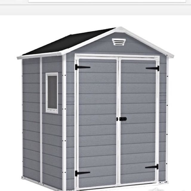 keter manor 6x5 garden shed