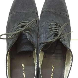 Zara SUEDE shoes.