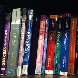 IB, Matriculation & SPM Reference Books