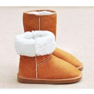 Acrylic Snow Boots