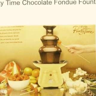 Hinari Chocolate Fondue Fountain (reserved)