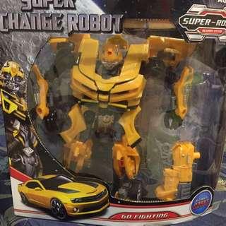 變形金鋼大黃蜂玩具