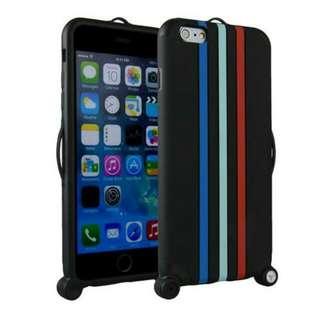 {送保護貼}iphone6 plus手機殼蘋果6行李箱保護殼iphone6二合一手機保護套