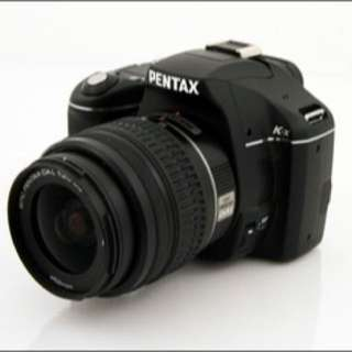 Mint Pentax Kx With Dual Kit Lens DSLR