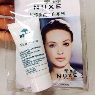 NUXE黎可詩 花粹極致美白保濕乳(小品項15ml)