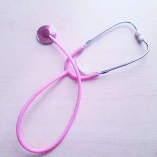 <免運>粉色聽筒