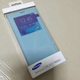 BNIB Authentic SAMSUNG Note 4 S View Cover