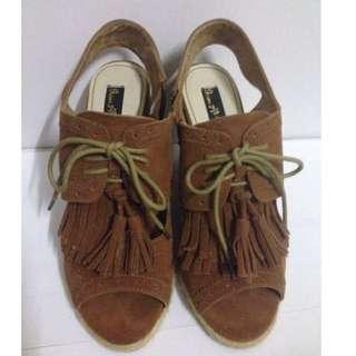 流蘇涼鞋 Grace Gift
